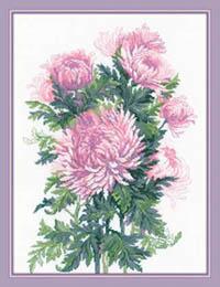 Bouquet of Chrysanthemums Kit