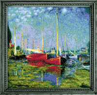 Argenteuil after C. Monet s Painting  Kit