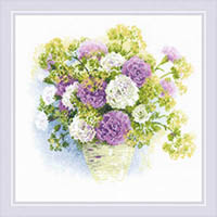 Watercolor Carnations Kit