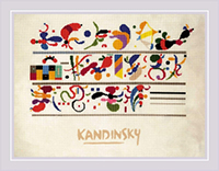 Succession after W. Kandinsky's Composition Kit