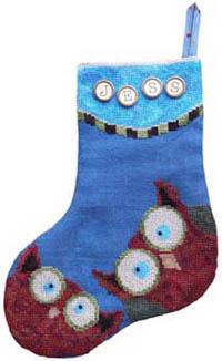 Whooo Owl Stocking