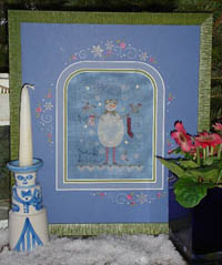 Blue Snowman Kit