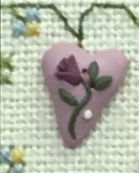 Sweet Heart Button