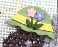 Easter Bonnet Button