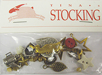 Tina's Stocking Charm Set