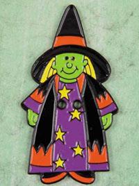 Witch Shepherd's Bush Button