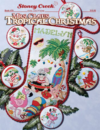 Mrs. Claus Tropical Christmas