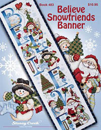 Believe Snowfriends Banner