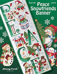 Peace Snowfriends Banner