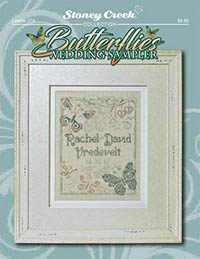 Butterflies Wedding Sampler