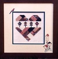 A Birdhouse Heart
