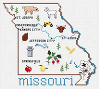 State Map - Missouri