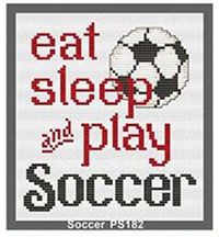 Quick to Stitch Sports - Play Soccer