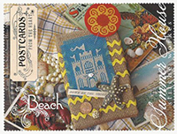 Postcards From The Heart - Beach