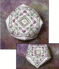 Lavender Blooms Biscornu