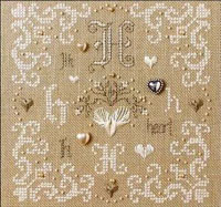 French Alphabet - H is for Hearts Kit