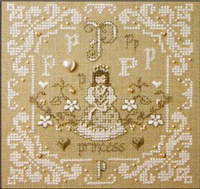 French Alphabet - P is for Princess Kit