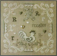 French Alphabet - R is for Rooster