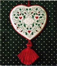 Holly & Hearts Ornament Kit