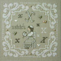 French Alphabet - X is for X-Stitch Kit
