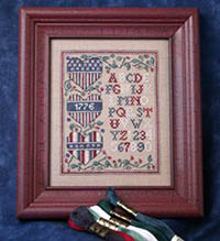 Patriotic Heart Trio Sampler Kit