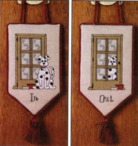 Dog In - Dog Out Knob Knocker