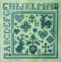 Quaker Alphabet Square I