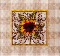 Sunflower On Gingham Kit
