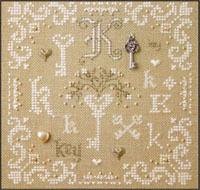 French Alphabet - K is for Key Kit