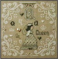 French Alphabet - Q is for Queen