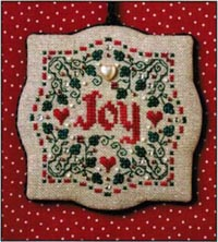 Joy Christmas Ornament Kit
