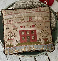 Rose Cottage Sampler Pinkeep