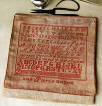 1902 Paris Sampler Bag