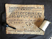 Christina Webber's Marking Sampler