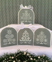 Snowflake Mini Trees - Snowflake Collection 3