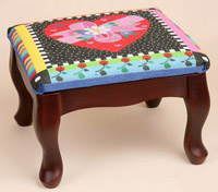 Square Classic Footstool