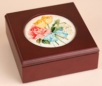 Round Frame Jewelry Box