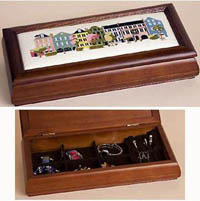 Long Jewelry Box