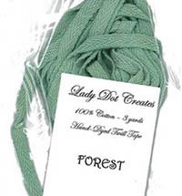Forest Twill Tape by Lady Dot Creations