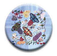 Butterfly Garden Needle Nanny from The Blue Flower
