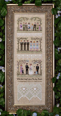 Garden Wedding Sampler