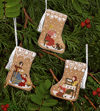 Gingerbread Stocking Ornaments