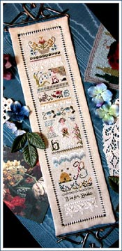 B is For Bride Sampler