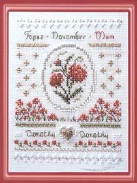 Birthday Needleroll Kit - November