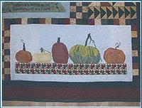 Autumn Splendor - Row of Pumpkins
