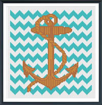 Anchor with Chevron