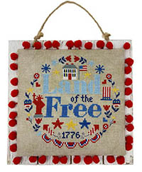 Land Of The Free Wreath