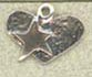 Starry Heart Sterling Silver Trinket by The Trilogy