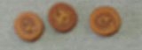 Gold Swirl Buttons