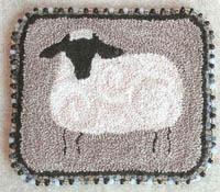 Beginner Punch Needle - Sheep